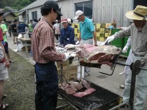 比婆牛の腿肉